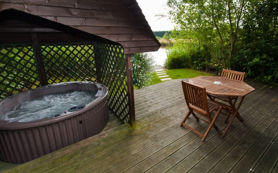 Luxury Romantic Log Cabin S C Break Private Hot Tub Sauna
